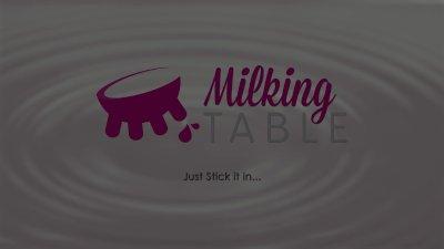 Milking Table Cute Ebony Masse