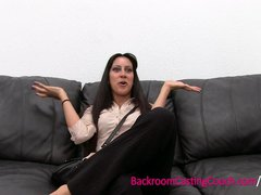 Preview 2 of Persian Squirter Anal Fail, Ambush Creampie Win On Casting Couch
