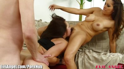 EvilAngel Le Wood Rough with Anal Slut Holly Michaels