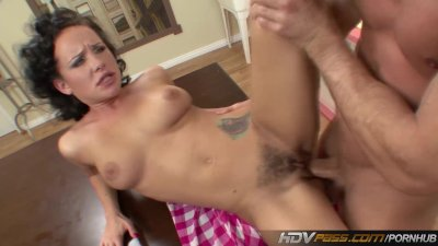 Luscious Babe Katie St Ives Seduces Lucky Guy and Fucks His Brains Out