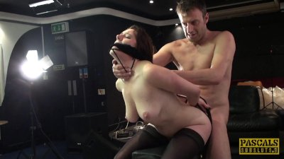 Samantha Bentley is tied up, throated and fucked raw