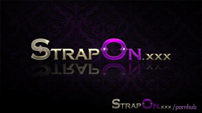 StrapOn Beautiful brunette gir