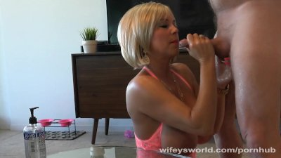 Wifey's Sister Sucks My Jizz Off Table