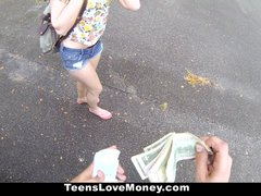 TeensLoveMoney   Lucy Tyler Gives Up Pink 4 Some Green