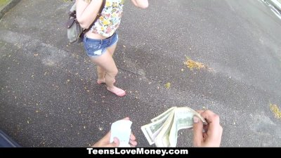 TeensLoveMoney - Lucy Tyler Gives Up Pink 4 Some Green!
