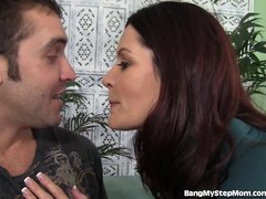 Insatiable MILF Goes Crazy For Young Dick