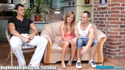 Doghouse Bi-Curious MMF Anal Threesome