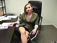 Horny step-mom handjob