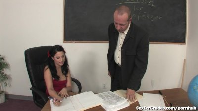 Slutty Schoolgirl Fucks and Sucks Her Teacher After Class
