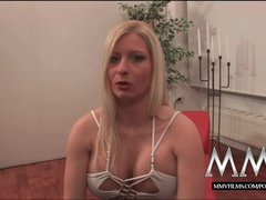 MMVFilms German sperm diva loves bukkake gokkun