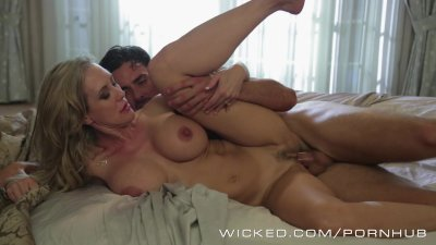 Brandi Love gets woken up by b