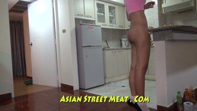 Thai Girl In Seedy Slum