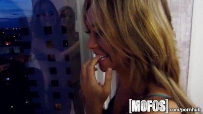Mofos - Four sexy teen one hot