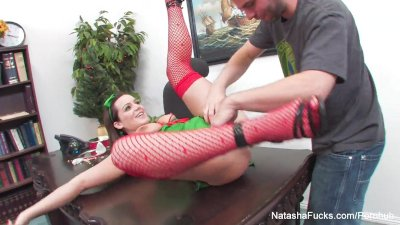 Natasha Nice Xmas Fuck in the Office