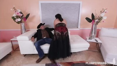 Sexy Plump Latina Karla Lane Dance and Fucks Rich Oil Baron