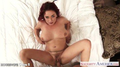 Redhead housewife Ashlee Graham fucking