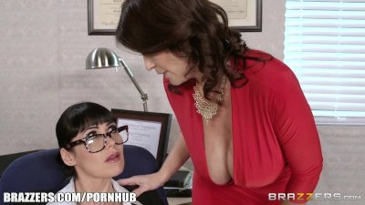 Brazzers - Hot office threesom