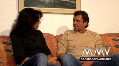 MMV Films Horny german amateur mature couple