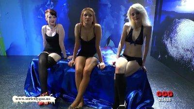 Linda Sylvie and Ashlee three gorgeous bukkake whores