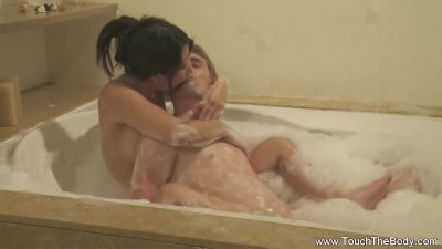 Soapy Massage Is Both Erotic and Interesting