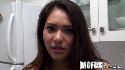 Mofos - Sexy POV deepthroat wi