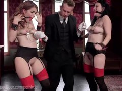 Preview 2 of House Slaves Anal Threesome