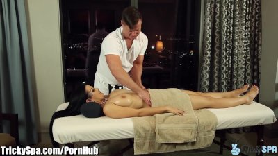 TrickySpa Katrina Jade Seduced by Dirty Masseur