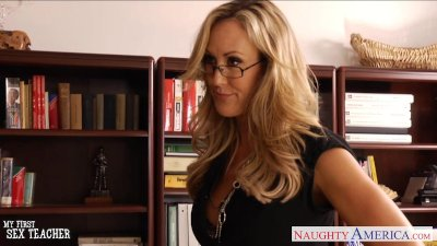 MILF sex teacher Brandi Love f