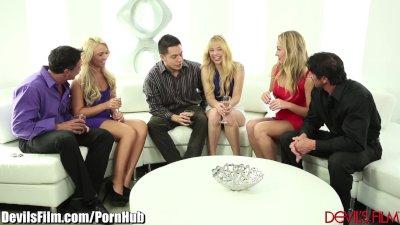 DevilsFilm 3 Swinging Blondes