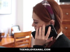 Preview 1 of Teensloveanal - Redhead Alice Green Tries Anal Sex