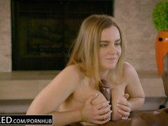 Preview 8 of Ebonyed Naughty Girlfriend Natasha Nice Enjoys Bbc