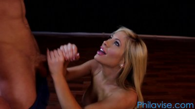 Tasha Reign and Patrick Delphia in a sexy yoga session @ Philavise.com