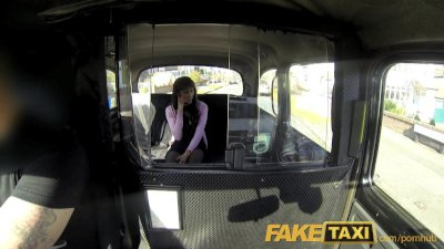 FakeTaxi Sexy black chick make