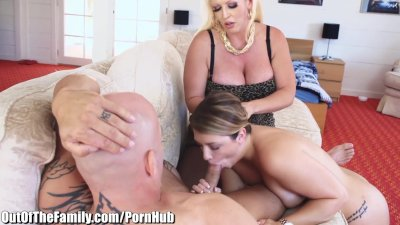 Alura Jenson Fucks Step-Daughters Man while She Watches