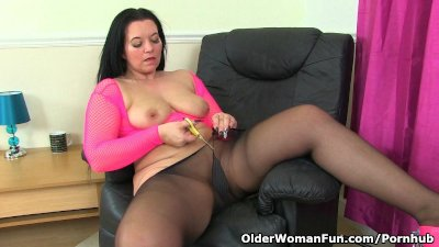 British milf Louise Bassett is