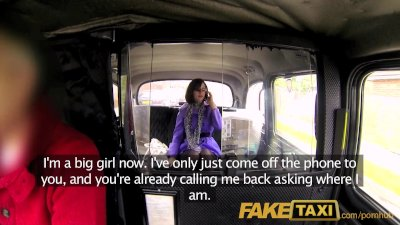 FakeTaxi She loves riding a bi
