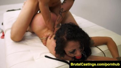 FetishNetwork Holly Hendrix first time bdsm casting