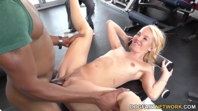 Aaliyah Love Fucks With Her Trainer - Cuckold Sessions