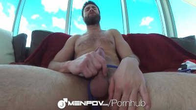 Abel Archer POV with a Fleshjack & Dildo