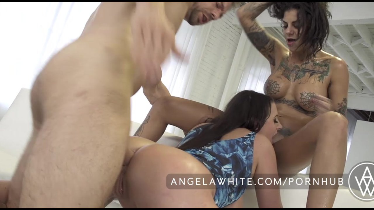 Angela White Scissor Massage