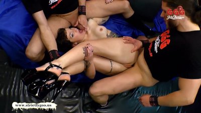 German Goo Girls - Tattoos Anal and Cum