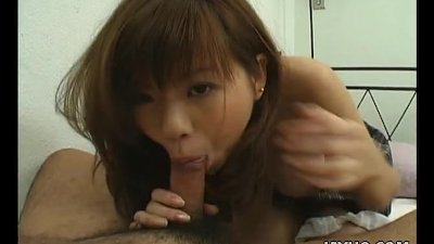 Asian hairy pussy getting hump