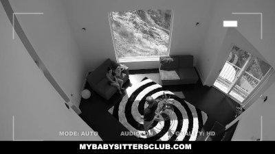 MyBabySittersClub - BabySitter Fucks Her Boss To Keep Her Job