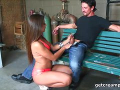Wicked chick anal creampied