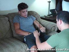 Preview 8 of Described Video - Gay Worshiping A Florida Beach Young Dude