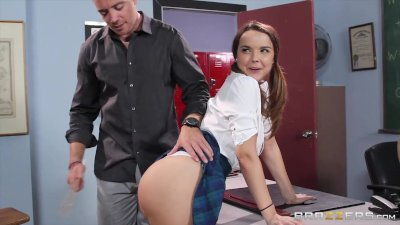 Naughty School girl Dillion Harper loves cock  - Brazzers