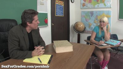 Teen Slut Becomes The Teacher's Pet!