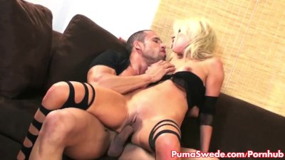 Euro Babe Puma Swede Gets A Rough Fucking!