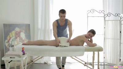 Young Anal Tryouts - The masseuse on Maia is young body