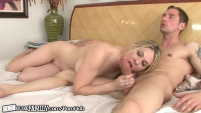 Mom Caught getting Anal from Son-in-Law